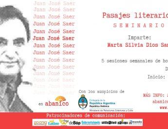 (Español) Juan José Saer – Pasajes literarios