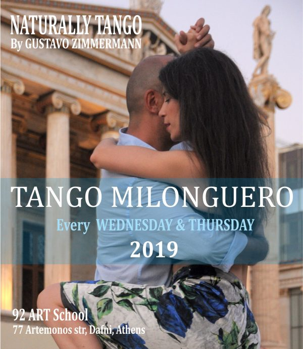 TANGO MILONGUERO 2019!